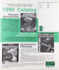 1990 Game Catalog