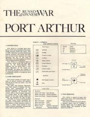 Port Arthur - The Russo-Japanese War