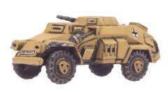 Sd Kfz 221 (MG, 2.8cm)