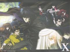 X/1999 - Main Characters Wall Scroll
