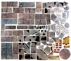 Geomorphic Tiles Lot