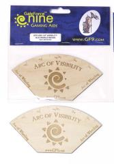 Arc of Visibility Template (Old World Wood)