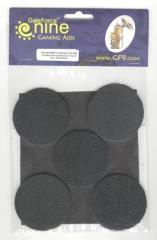 60mm Round Bases w/Insert (5)