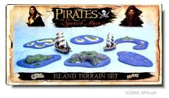 Island Terrain Set #1 - Pirates of the Spanish Main