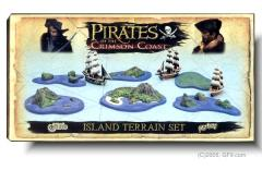 Island Terrain Set #2 - Pirates of the Crimson Coast
