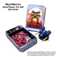 Mechwarrior Token Set w/Collector's Tin