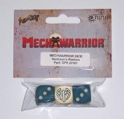 Bannson's Raiders Dice Set (3)