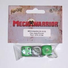 Clan Jade Falcon Dice Set (3)