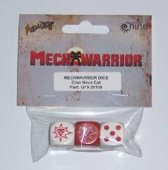Clan Nova Cat Dice Set (3)