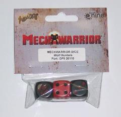 Wolf Hunters Dice Set (3)