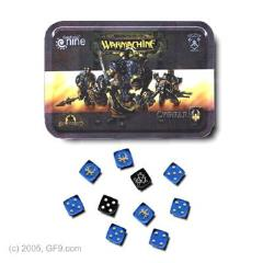 Cygnar Dice Set w/Carrying Tin