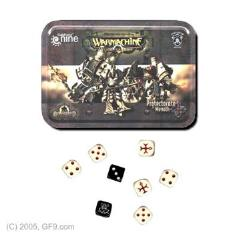 Menoth Dice Set w/Carrying Tin