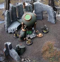Cryx - Necrotite Mining Rig