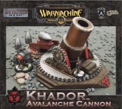 Khador - Avalanche Cannon