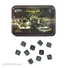 Mercenary Dice Set w/Carrying Tin
