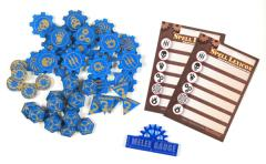 Token Set - Electric Blue