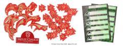Token Set - Scornful Crimson