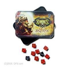 Skorne Dice Set w/Carrying Tin