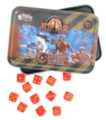 Dice Tin - Red Blok