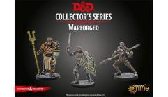 Warforged Monk, Wizard & Fighter