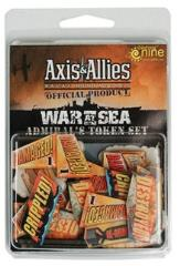 War at Sea - Admiral's Token Set