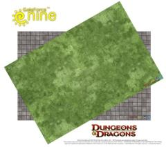 "20"" x 30"" Vinyl Game Mat - Indoor Tiled/Outdoor Grassy"