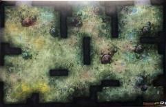 "30"" x 20"" Vinyl Game Mat - Fungal Cavern"