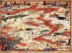 Baldur's Gate - Descent Into Avernus, Avernis Poster Map