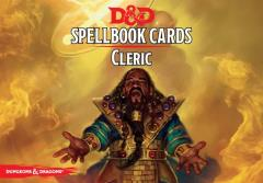 Spellbook Cards - Cleric (1st Edition, 2nd Printing)