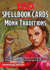 Spellbook Cards - Monk Traditions