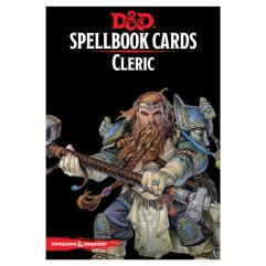 Spellbook Cards - Cleric (2nd Edition)