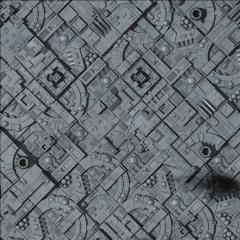 """36"""" x 36"""" Vinyl Game Mat - Space Station Moon"""