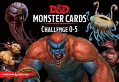 Monster Manual Cards - Monsters CR 0-5