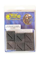 25mm Slotted Square Bases (25)