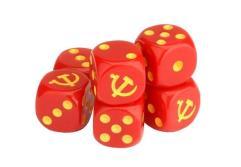 Soviet Dice Set (6)
