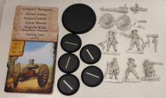 Wilde's Rangers & Gatling Gun
