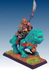 Temple Lion Rider II