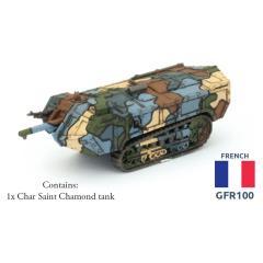 Char Saint Chamond Tank
