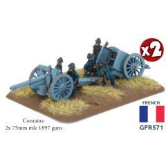 75mm mle 1897 Gun