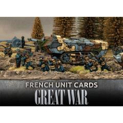 French Unit Cards