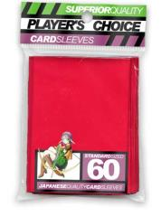 Standard Card Sleeves - Red (60)