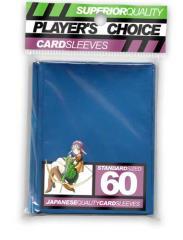 Standard Card Sleeves - Metallic Blue (60)