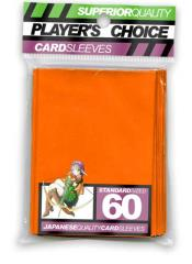 Standard Card Sleeves - Orange (60)