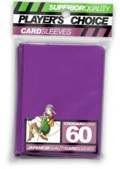 Standard Card Sleeves - Purple (60)