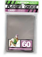 Standard Card Sleeves - Silver (60)