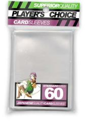 Standard Card Sleeves - Clear (60)