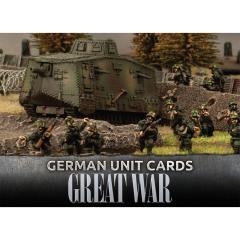 German Unit Cards