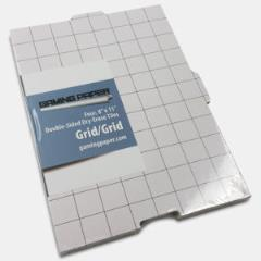 "8.5"" x 11"" Reversible Dry-Erase Tiles (1"" Grid/Grid)"