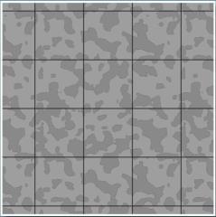 """30"""" x 12' Roll Reversible Graph Paper - Cobblestone (1"""" Square)"""