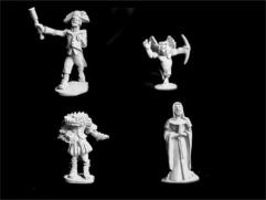 Gollums - Animated Statues